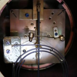 Mahogany and Inlay Bracket Clock