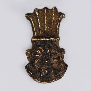 Stunning Egyptian Gold Bes Amulet