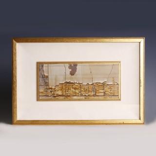 Framed Landscape Stone Slab