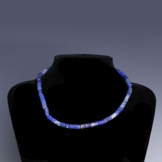 Near Eastern-Western Asiatic Lapis Lazuli Necklace
