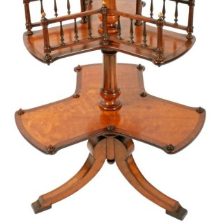 Victorian Satinwood Book Stand