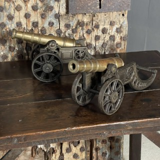 A Pair of early 19th Century Cannon