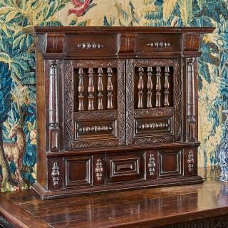 Charles I mural wall cupboard