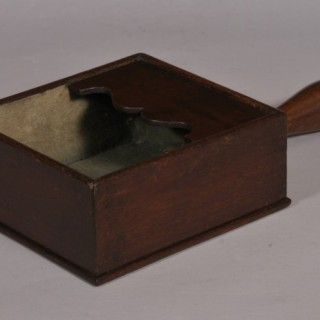 Antique Treen 19th Century Mahogany Offertory Box