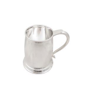 Vintage Sterling Silver Pint Mug / Tankard 1944