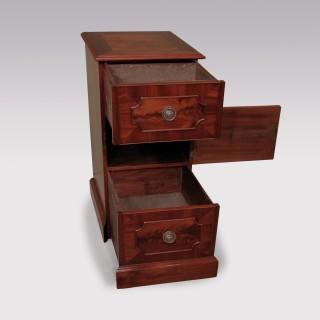 Pair of George III period mahogany Diningroom Pedestal Cupboards