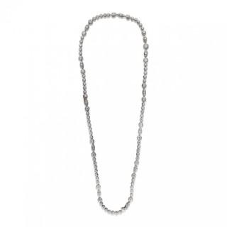 Vintage Diamond Sautoir Necklace & Bracelet by Van Cleef & Arpels circa 1970s