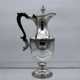 18th Century Antique George III Old Sheffield Plate Coffee Jug Circa 1785