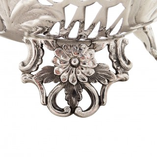 Pair of Antique Victorian Sterling Silver 7 1/2