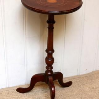 Inlaid Mahogany Wine Table