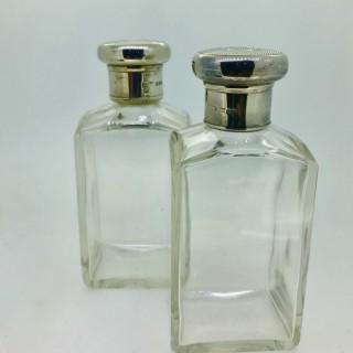 Pair Cologne Bottles