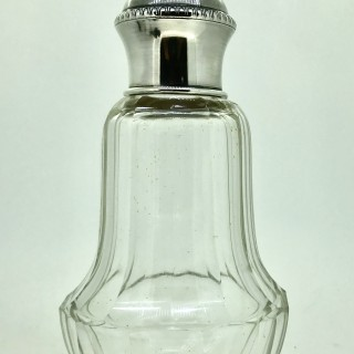 Continental Silver Cologne Bottle