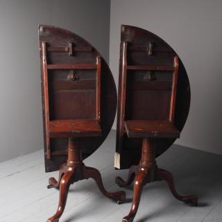 Antique Georgian Mahogany Twin Pedestal Dining Table