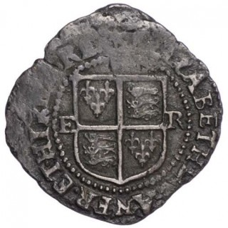 ELIZABETH I (1558-1603), PENNY, BASE ISSUE, 1601