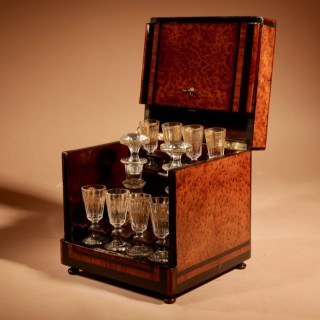 Cave A Liqueur / Tantalus French Napoleon III 1852-1871.