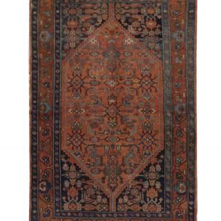 Traditional Turkish Milas Area Rug, Oriental Wool Carpet- 128x230cm
