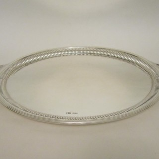 Antique Edwardian Sterling Silver Tray - 1905