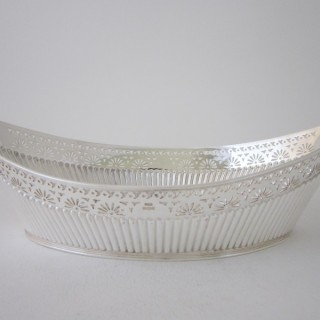 Antique Edwardian Sterling Silver Dish - 1906