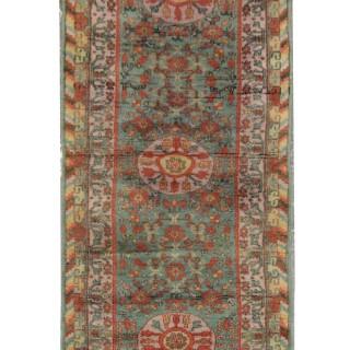 Handmade central Asin Kohtan Rug, Oriental Wool Runner Rug- 70x240cm