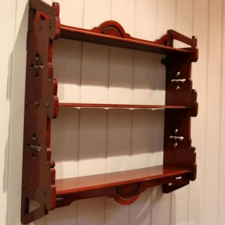 Walnut Wall Shelves