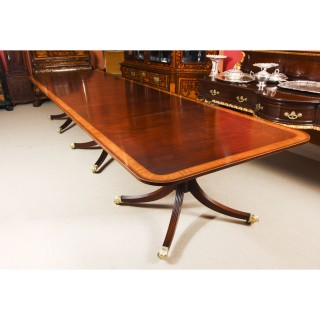 Antique 14ft Regency Revival Metamorphic Dining Table 19th Century