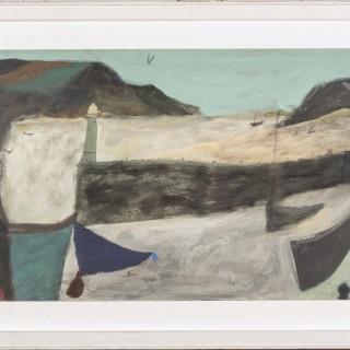 Nicholas Turner, The Purple Boat, 2019