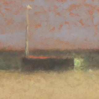 Nicholas Turner, Boat with Stripe I