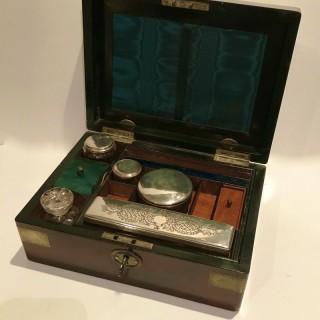 Antique Brass Bound Box