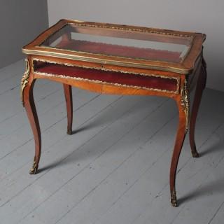 Antique Victorian Kingwood Bijouterie Table