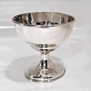 Antique Cork Silver Bowl