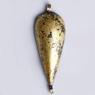 Ancient Egyptian Gold Lotus Petal Amulet