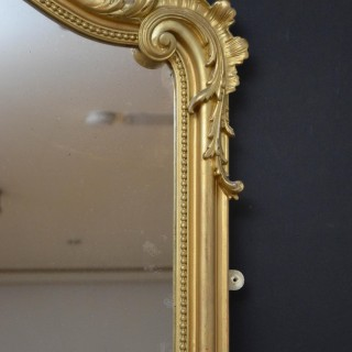 19th Century Wall Mirror or Floor Standing H184cm