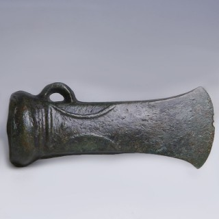 Bronze Age Decorated Socketed Axe Head