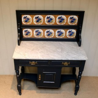 Painted Pine Wash Stand