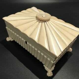 Nineteenth Century Anglo Indian  Box