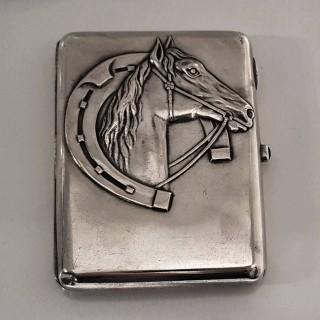 Antique Estonian Silver Cigarette Case