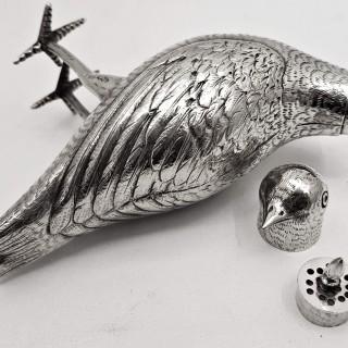 Antique Dutch Silver Bird