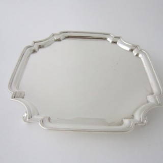 Antique George V Sterling Silver Salver/Tray - 1922