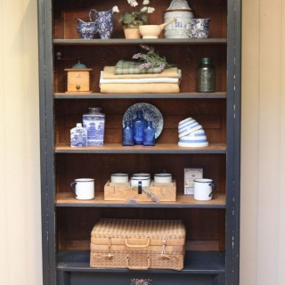 French Painted Storage Cabinet