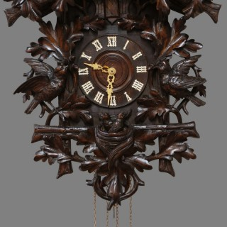 Black Forest Wall Mounted Cuckoo Clock