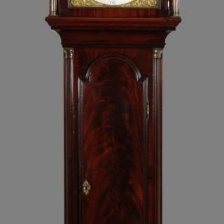 Georgian Mahogany Longcase clock by George Tupman, London