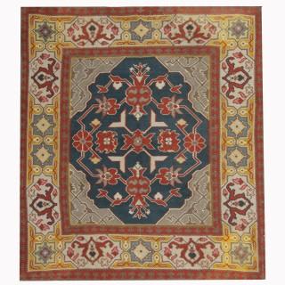 Handmade Serbian Kilim, Traditional Oriental Pirot Kilim Rug- 153x162cm