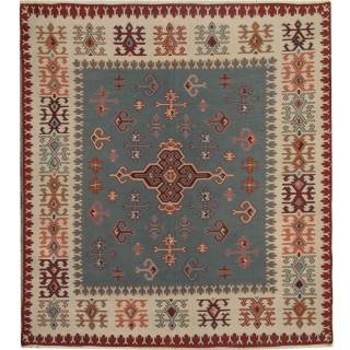 Handmade Serbian Kilim, Oriental Flatweave Pirot Rug -160x174cm