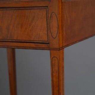 Georgian Satinwood Bijouterie Table