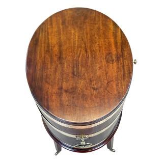 18th Century Oval Mahogany Wine Cooler