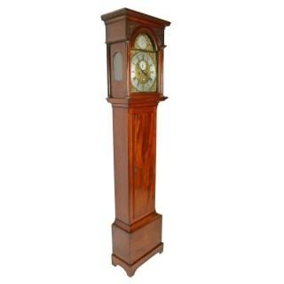 Scottish Mahogany Grandfather Clock