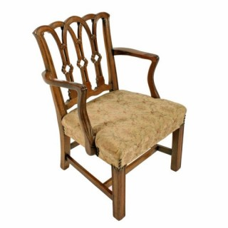 Chippendale Style Child's Arm Chair