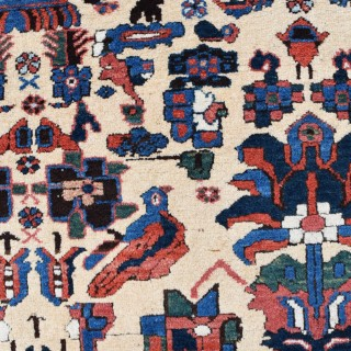 An Antique Persian Afshar tribal rug 193x130cm