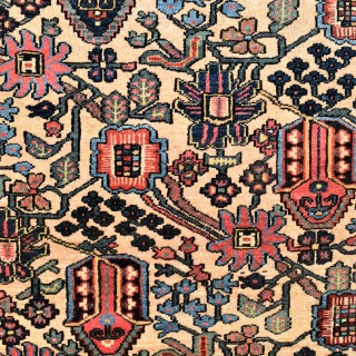 An unusual Baktiari rug 200x140cm