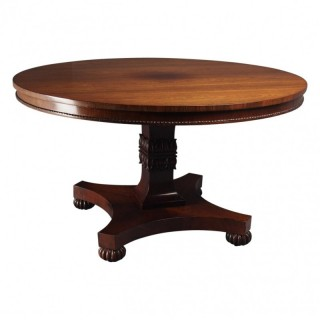 Antique Rosewood Breakfast Table in Manner of William Trotter